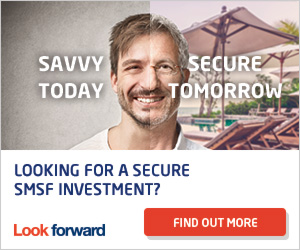 Look Foward - Investment Advertisment - Savvy Today, Secure Tomorrow